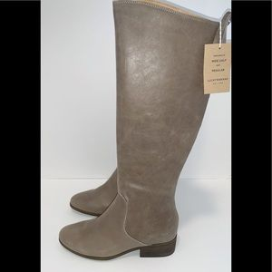Lucky Brand Knee High Leather Boot